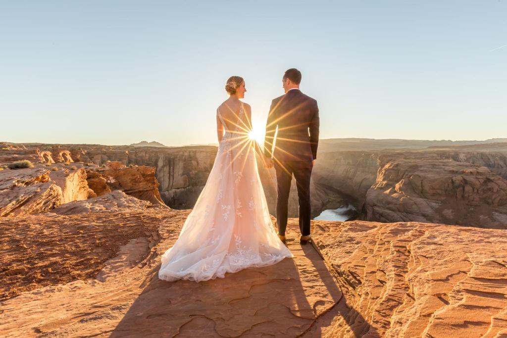 Peekaboo Slot Canyon Couple