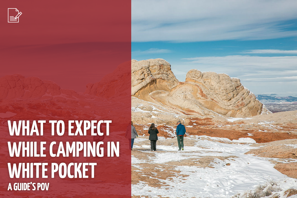 What to Expect While Camping in White Pocket | A Guide's POV